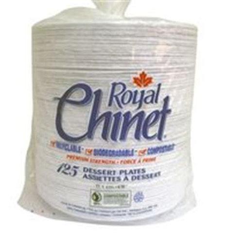 Royal Chinet Dessert Plates (250pk)