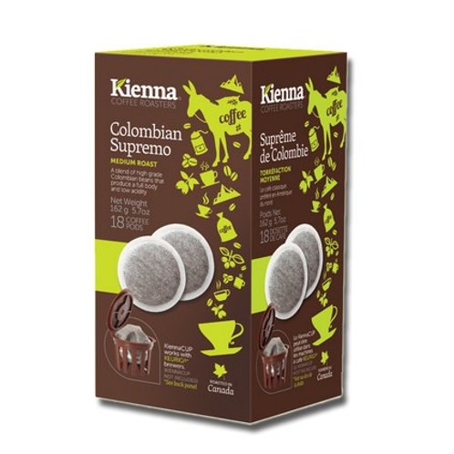 100% Colombia  Pods (18 pk)