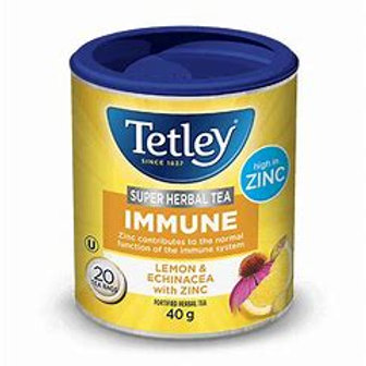 Tetley Super Immune Lemon (25pk)