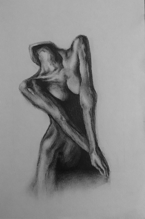 Figurative Front Nude Female  - A5