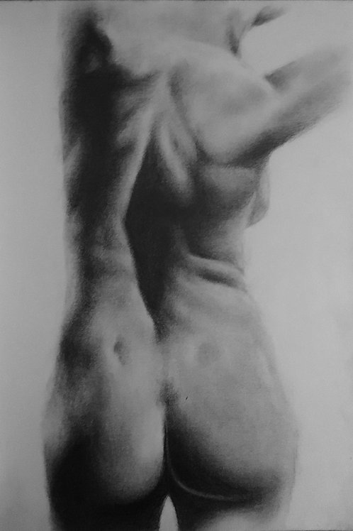 Classical Nude Female - A4