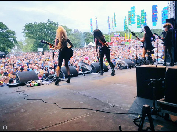 Isle Of Wight Festival - Hard Rock stage