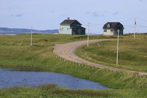 Vue de la maison côté de l'étang