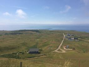 Vue de Big Hill, Île d'Entrée