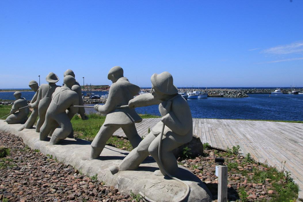 Étang du Nord, Site de la côte