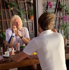 Breakfast with Sir Richard Branson