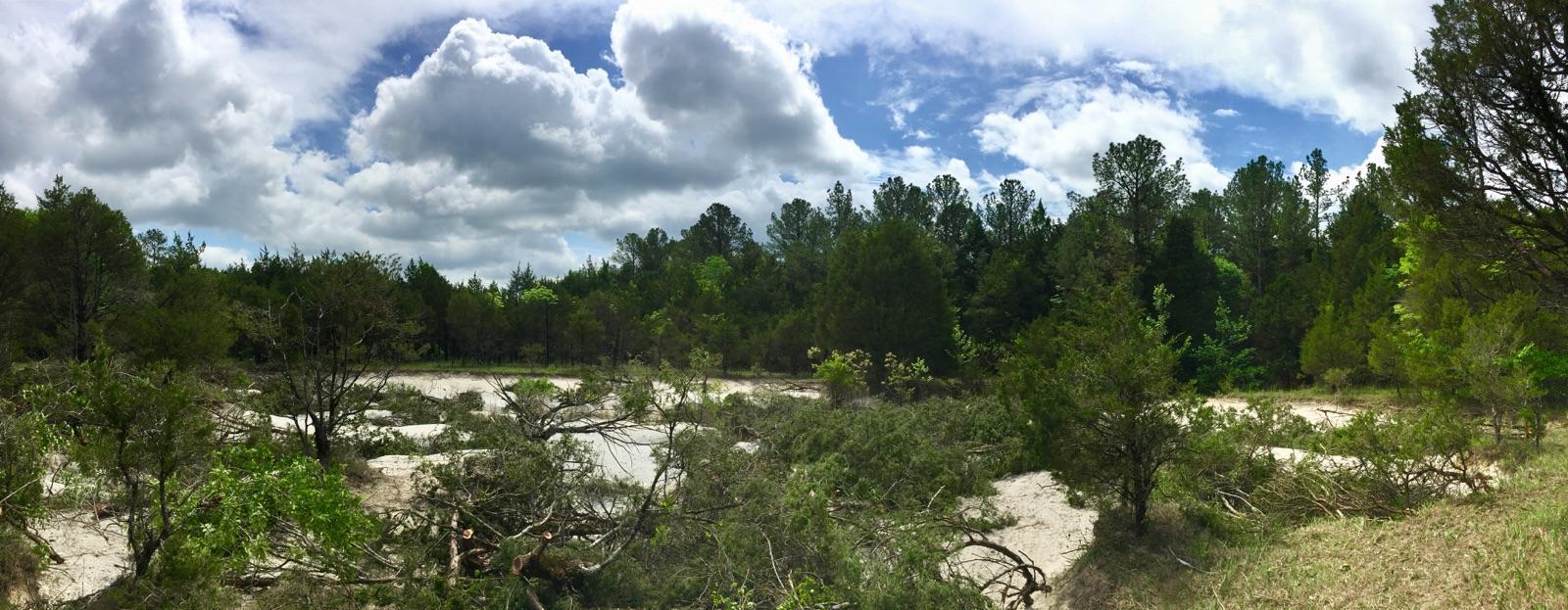 After erosion prevention