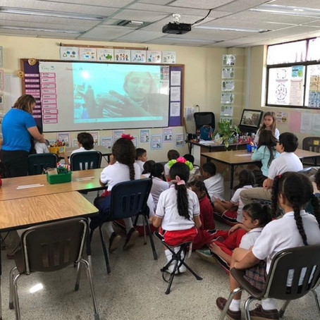 ConserVANtion's Virtual Classroom with Ms. Becker's Class in Columbia!