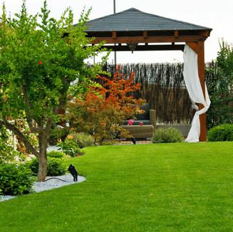 diseño jardín en Boadilla del Monte
