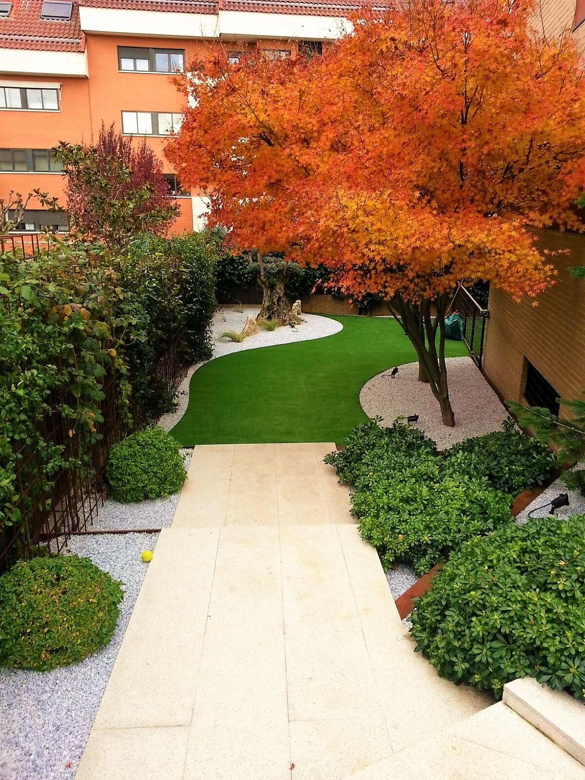 Dise O De Terrazas Y Jardines Comunidad De Madrid Jardinesysol ~ Decoracion De Jardines Con Piscina