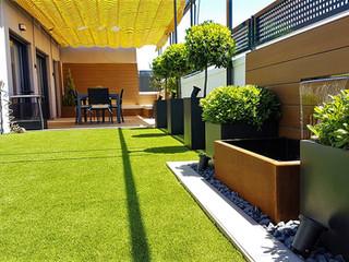 Terraza de diseño en Pinto