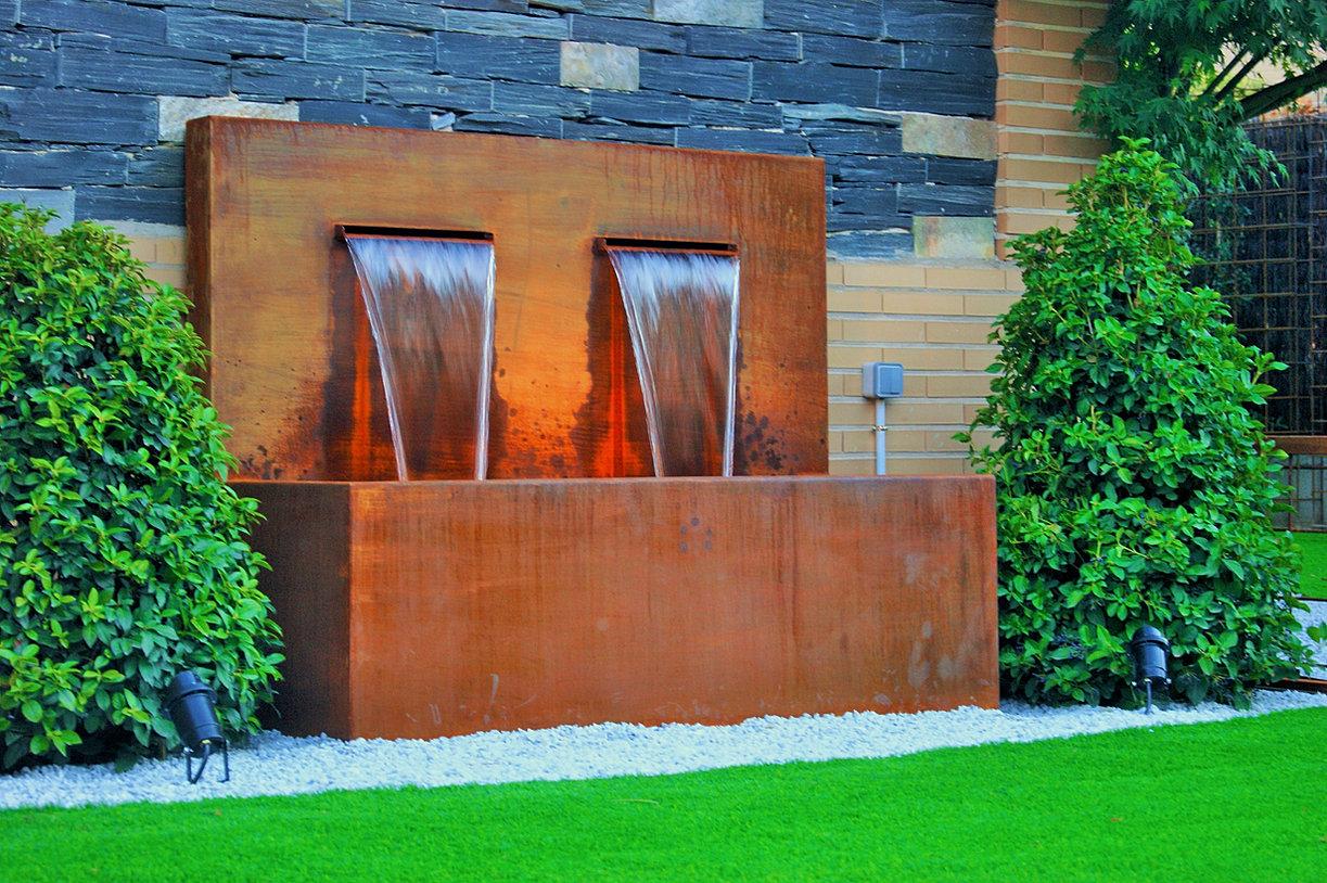 Fuentes de cascada para jardin katita jardineria cascadas - Fuentes solares para jardin ...