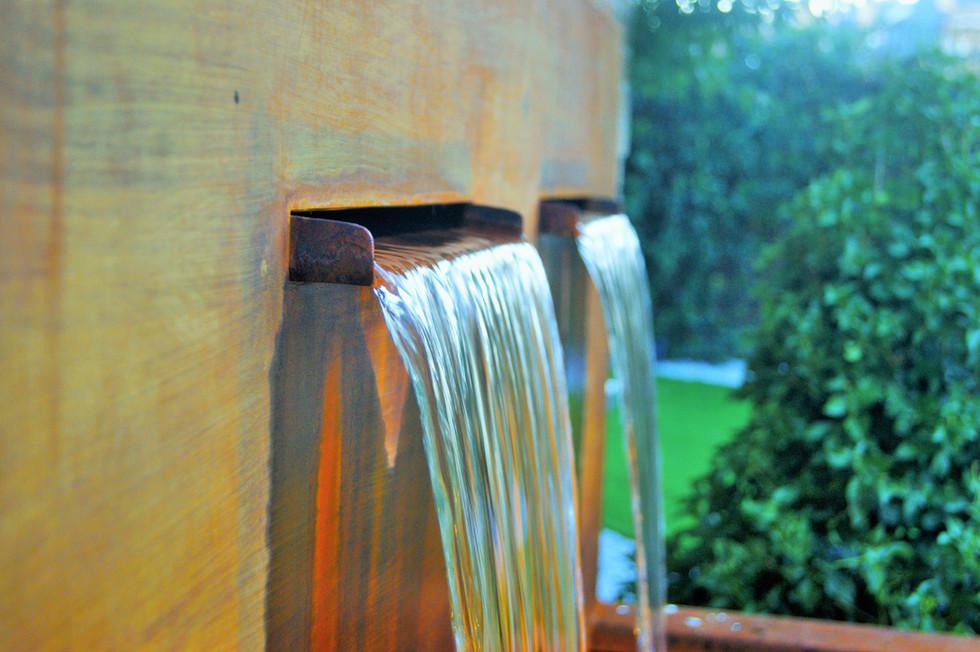 Detalle Acero en Oxidación