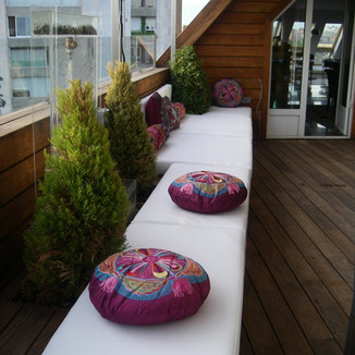 Diseño terraza chill out Madrid