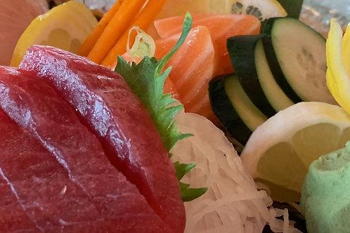 Tuna fillet, Boneless, Skinless, IQF, 2.5 LBS x 2