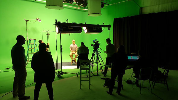 Corporate Video greenscreen production