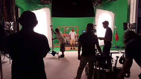 Greenscreen production for the Housewives of Atlanta