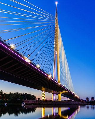 View of Ada bridge