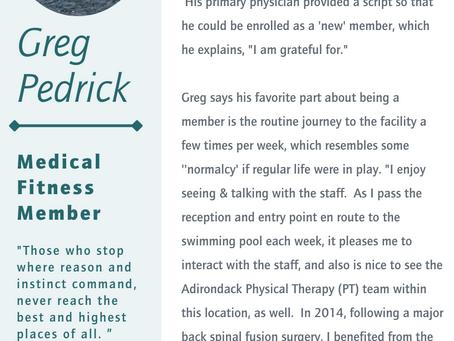 AHMFC Member, Greg Pedrick