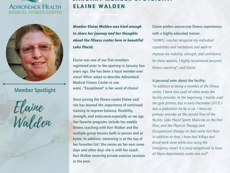 Member spotlight: Elaine Walden