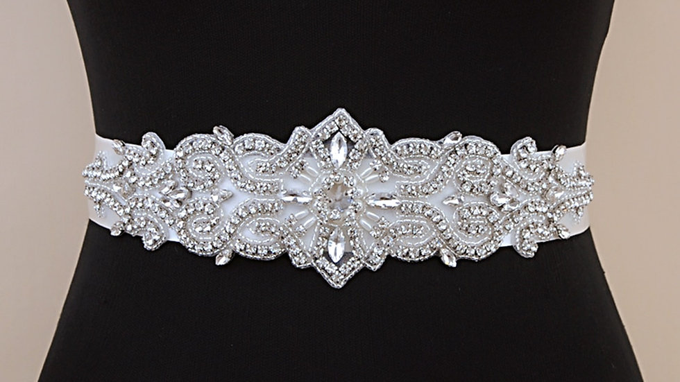 Gorgeous Wedding Sash Rhinestone Belt Sparkle Belt