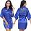Thumbnail: Custom Logo Wedding Date, Faux Silk Kimono Robe