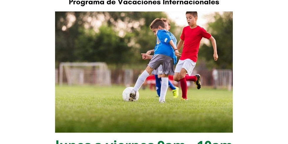 Clases de Fútbol para Niños (Vacaciones)