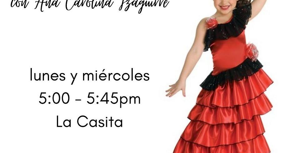 Clases de Flamenco para Niñas