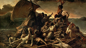 L'histoire du célèbre tableau : Le radeau de la Méduse.