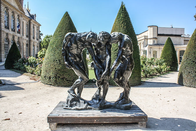 The_Three_Shades_by_Auguste_Rodin,_Musée