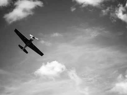 An aircraft doesn't know its over water. The pilot does. An analogy for digital disruption