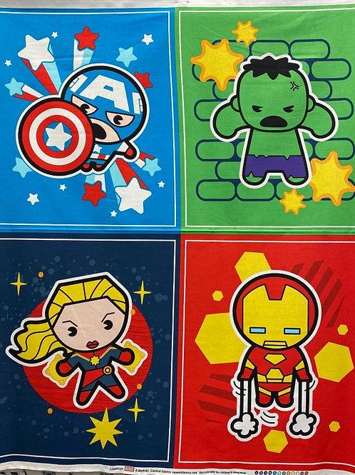 Panneau Avengers kawaii
