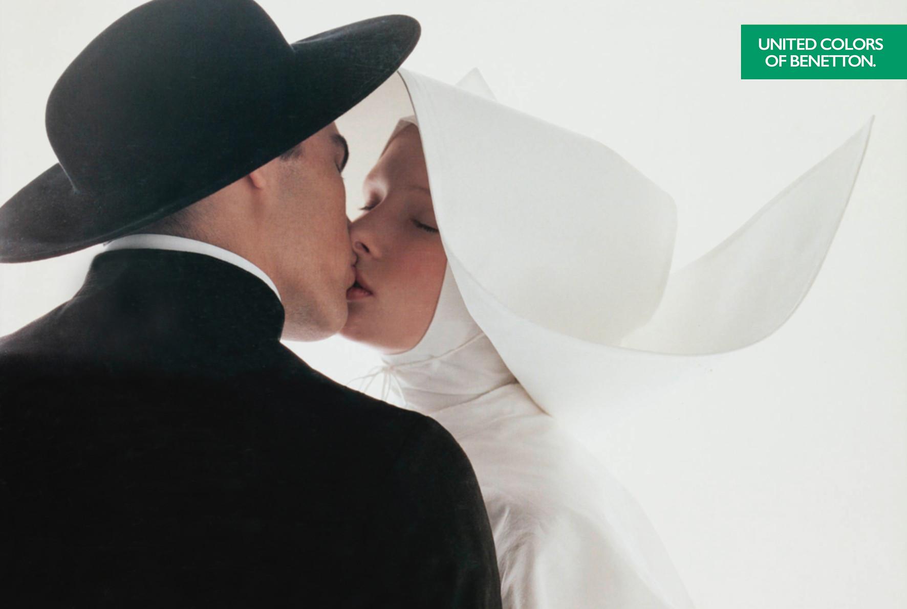 Benetton - Priester küsst Nonne (1992)