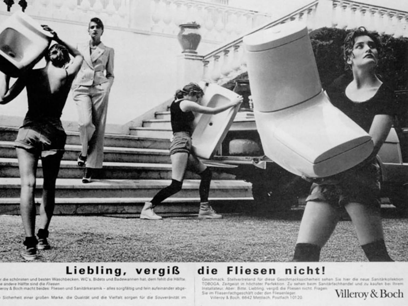 Villeroy & Boch - Liebling Vergiss die Fliessen nicht