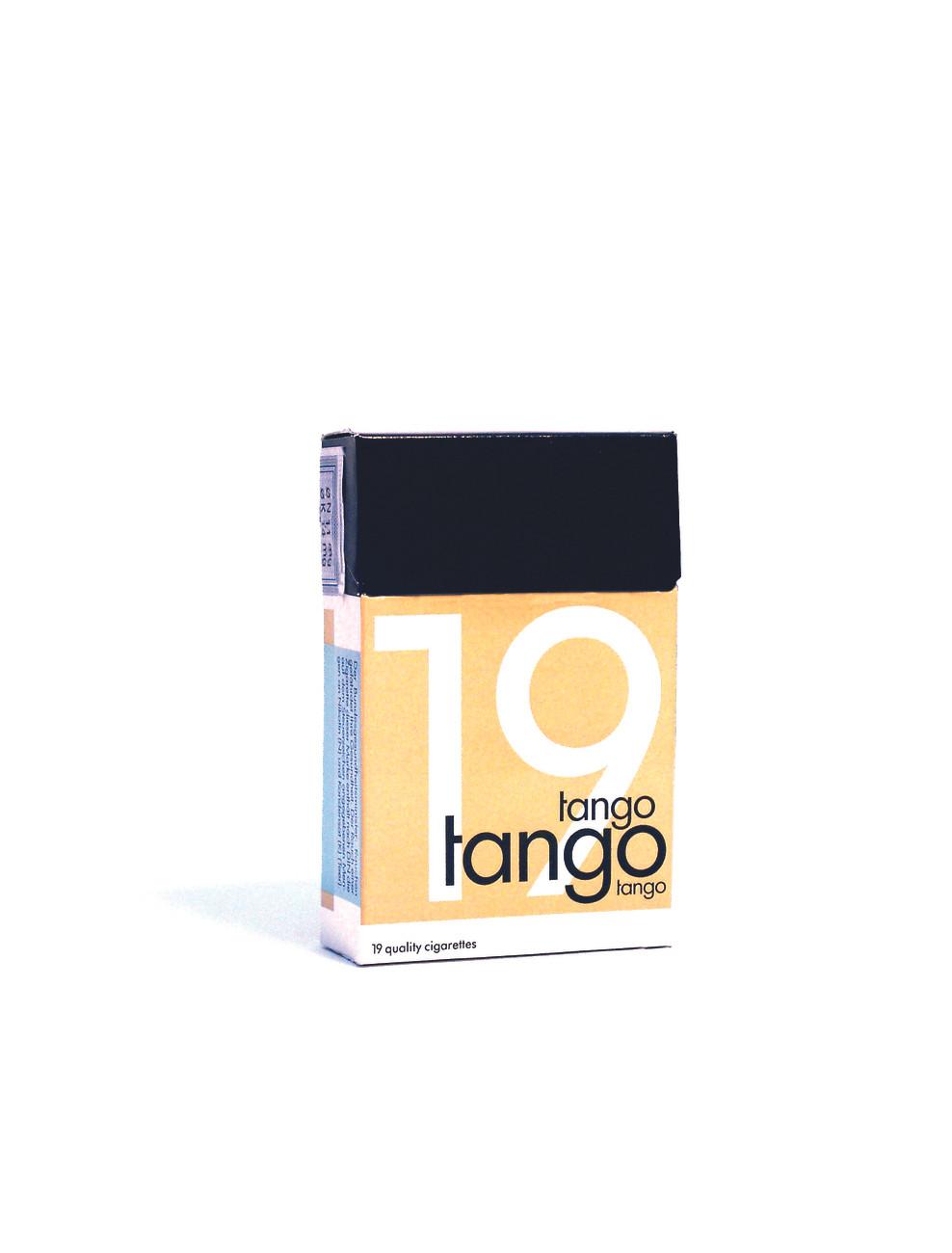 Tango cigarette box