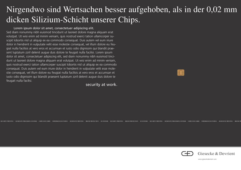 Giesecke & Devrient - Chip / Funktion von virtuellen Geld