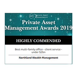 Private Asset Management Awards 2019 Highly Commended