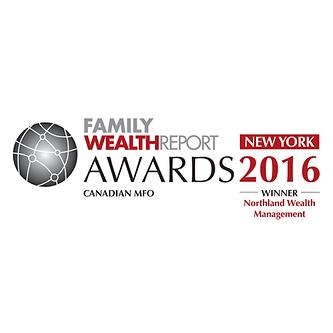 Family Wealth Report Awards 2016 Winner