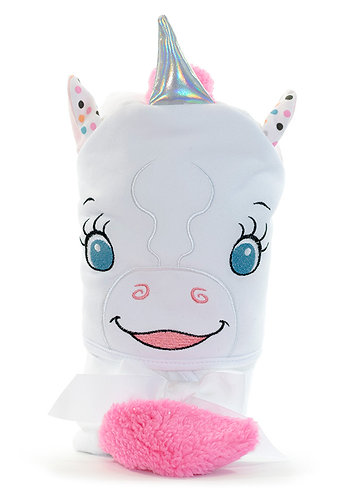 Hooded Towel-Unicorn