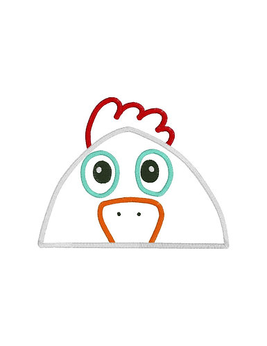 Chicken Hooded Towel