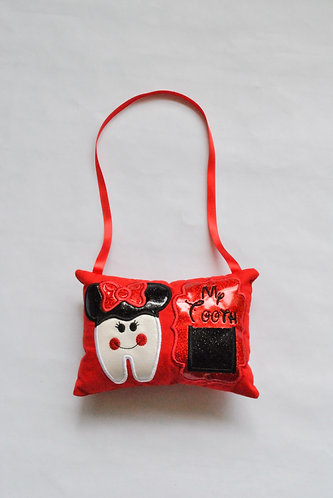 Tooth with Ears Tooth Fairy Pillow