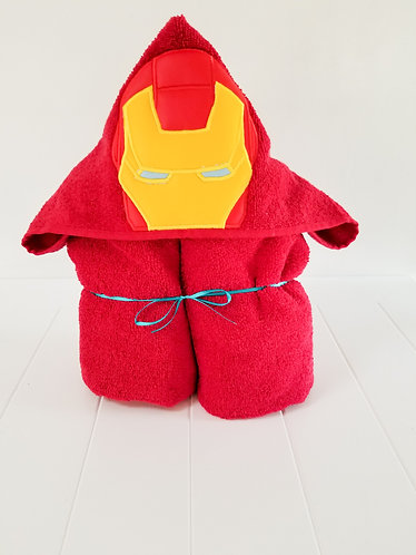 Iron Man Hooded Towel