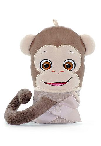 Hooded Towel-Monkey