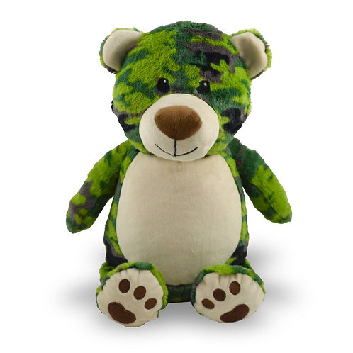 Bear in Camo