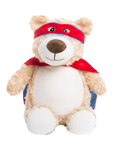 Hero Bear in Blue and Red