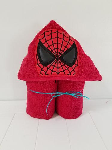Spiderman Hooded Towel