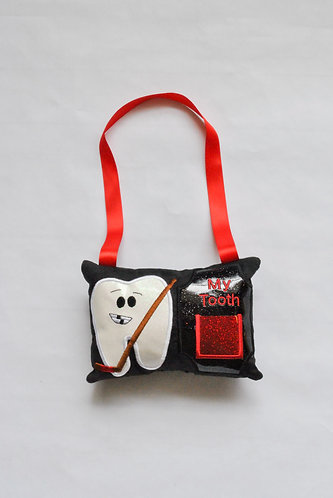 Hockey Tooth Fairy Pillow