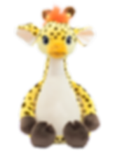 stuffed animal, baby gift, giraffe, kids toy, embroidery, personalized gift