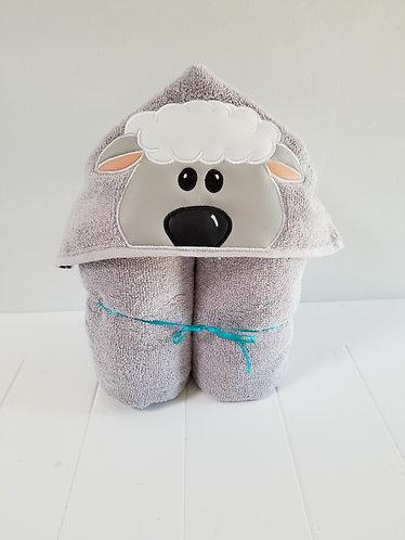 Lamb Hooded Towel