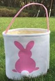 Easter Basket Pink Bunny